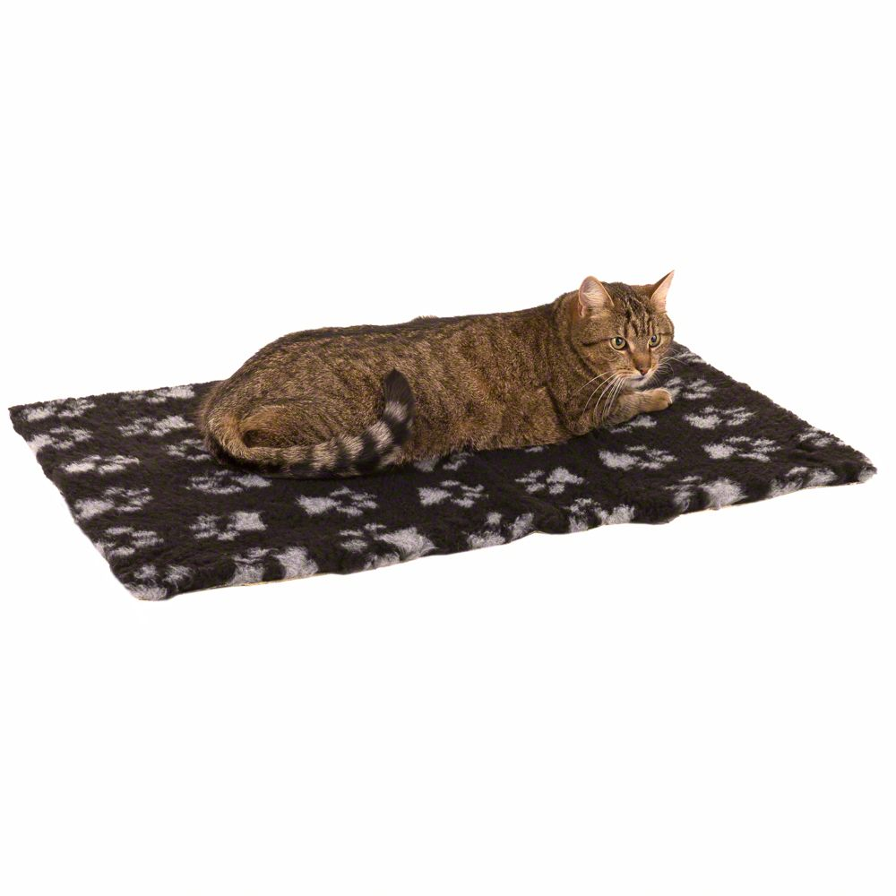 Koc dla kota Vetbed Isobed SL, szary/czarny - Dł. z szer. : 100 x 75 cm