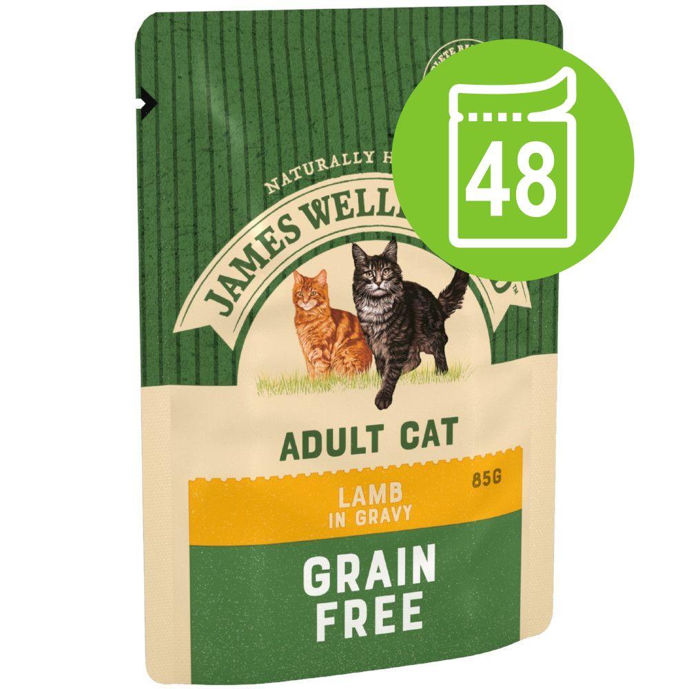 James Wellbeloved em saquetas 48 x 85 g - Pack económico - Senior peru (48 x 85 g)