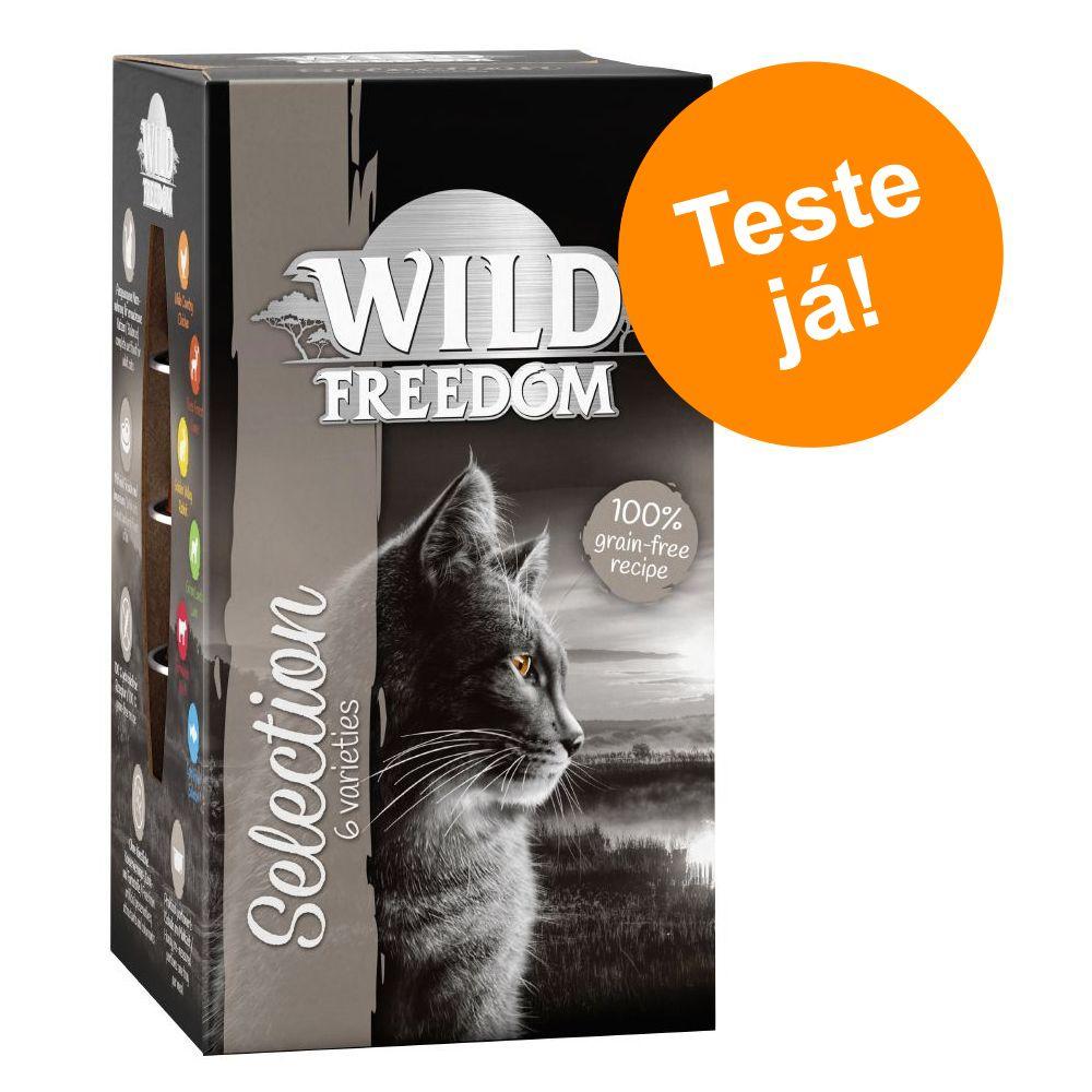 Wild Freedom Adult em terrinas - Pack de experimentação misto - 6 x 85 g