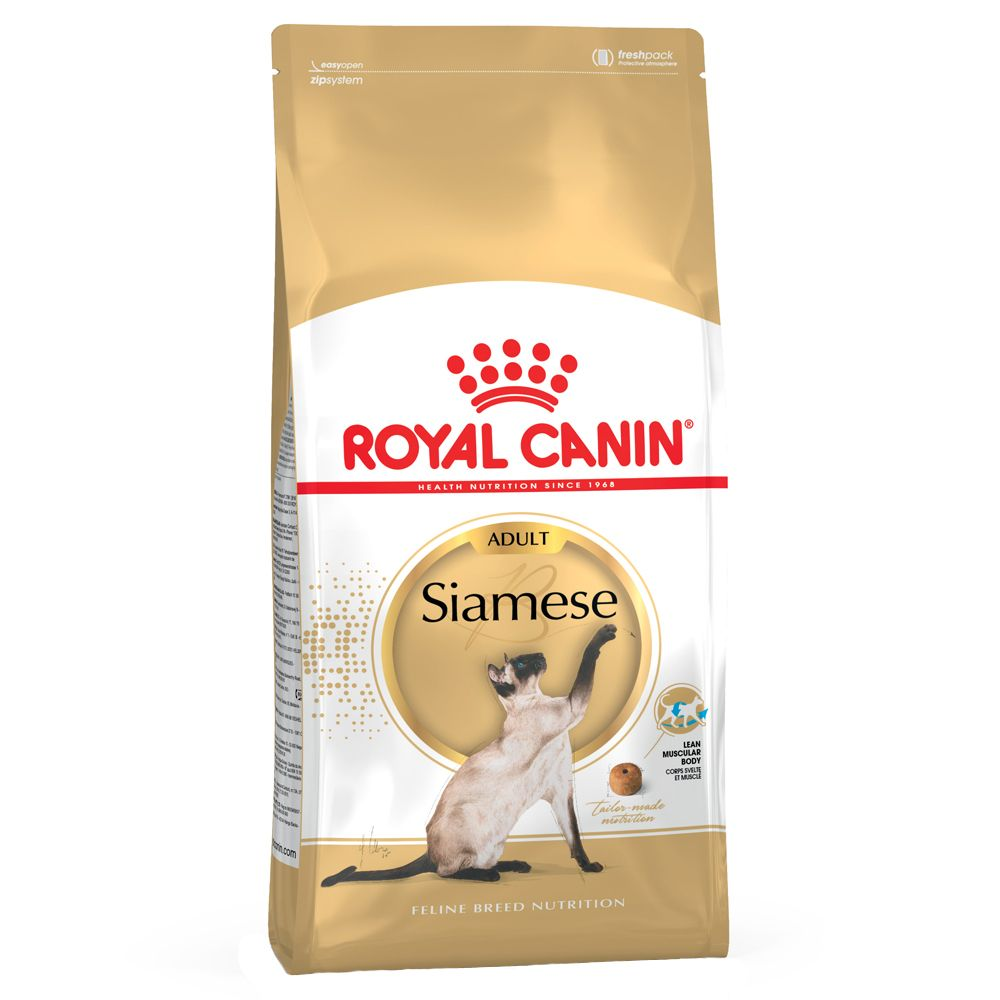 Foto Royal Canin Siamese Adult - 4 kg Royal Canin Feline Breed Siamese