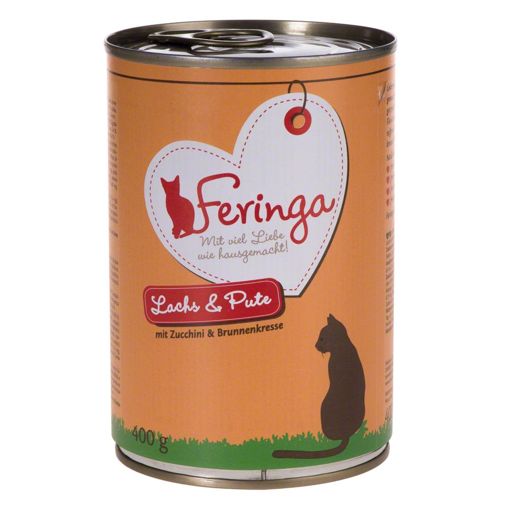 4 varieties Mixed Pack Menu Duo Feringa Wet Cat Food