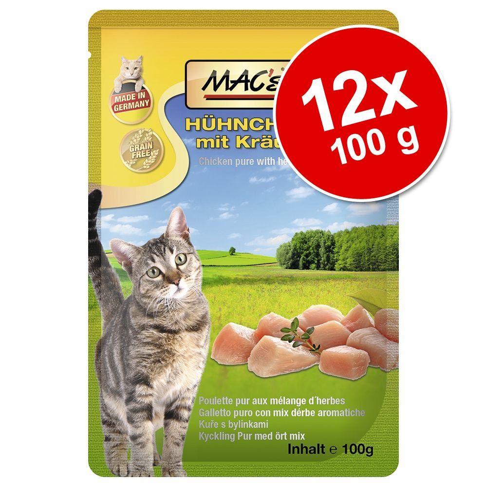 Image of MAC´s Cat in busta 12 x 100 g - Anatra & Gamberetti