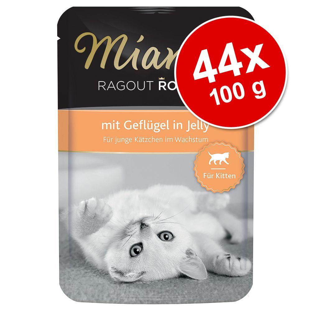 Ekonomipack: Miamor Ragout Royale Kitten 44 x 100 g - Fågel