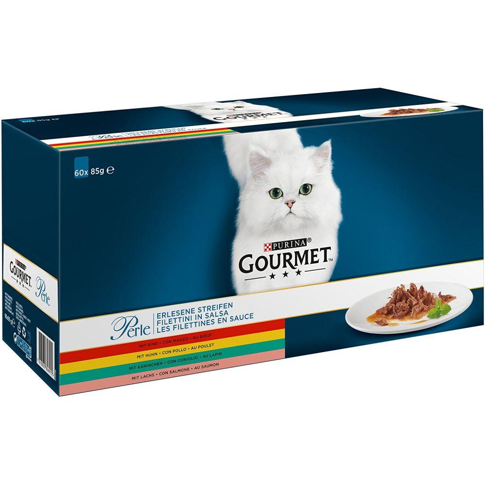 Mixpaket Gourmet Perle 60 x 85 g - Erlesene Streifen: Rind