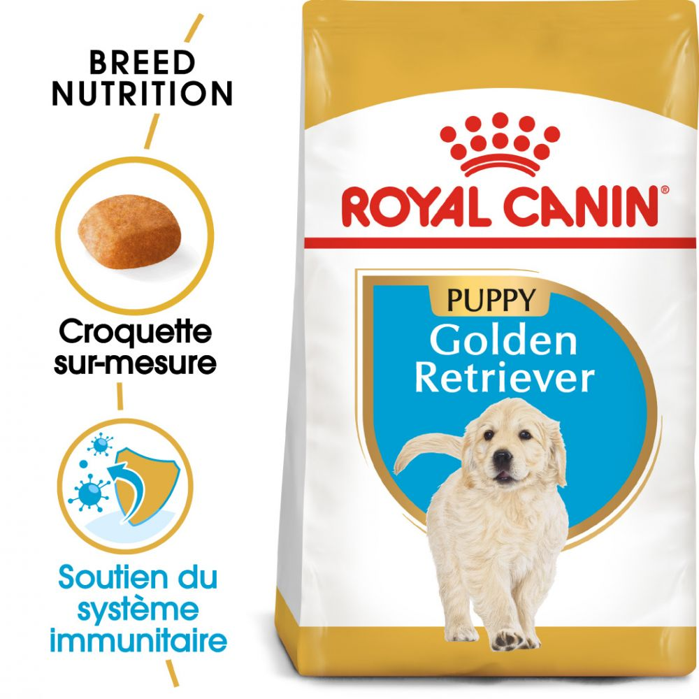 12kg Golden Retriever Puppy Royal Canin - Croquettes pour chiot