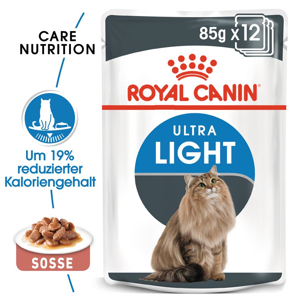 Royal Canin Ultra Light i sås 12 x 85 g