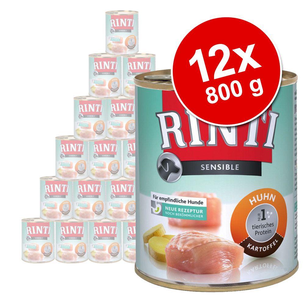 Image of Rinti Sensible 12 x 800 g - Agnello & Riso