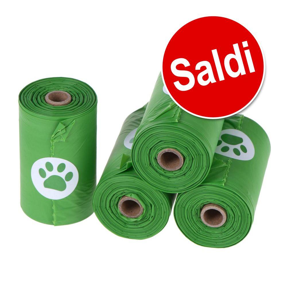 Image of Sacchetti igienici biodegradabili - 40 rotoli (15 sacchetti cad.)