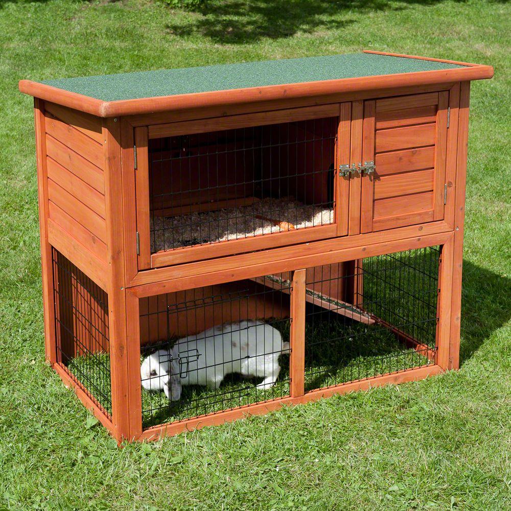 Klatka dla królika Outback Kompakt z kojcem - Dł. x szer. x wys.: 104 x 52 x 92 cm