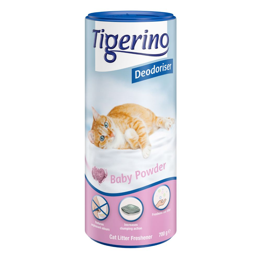 Tigerino Deodoriser - Cotton Flower 2 x 700 g