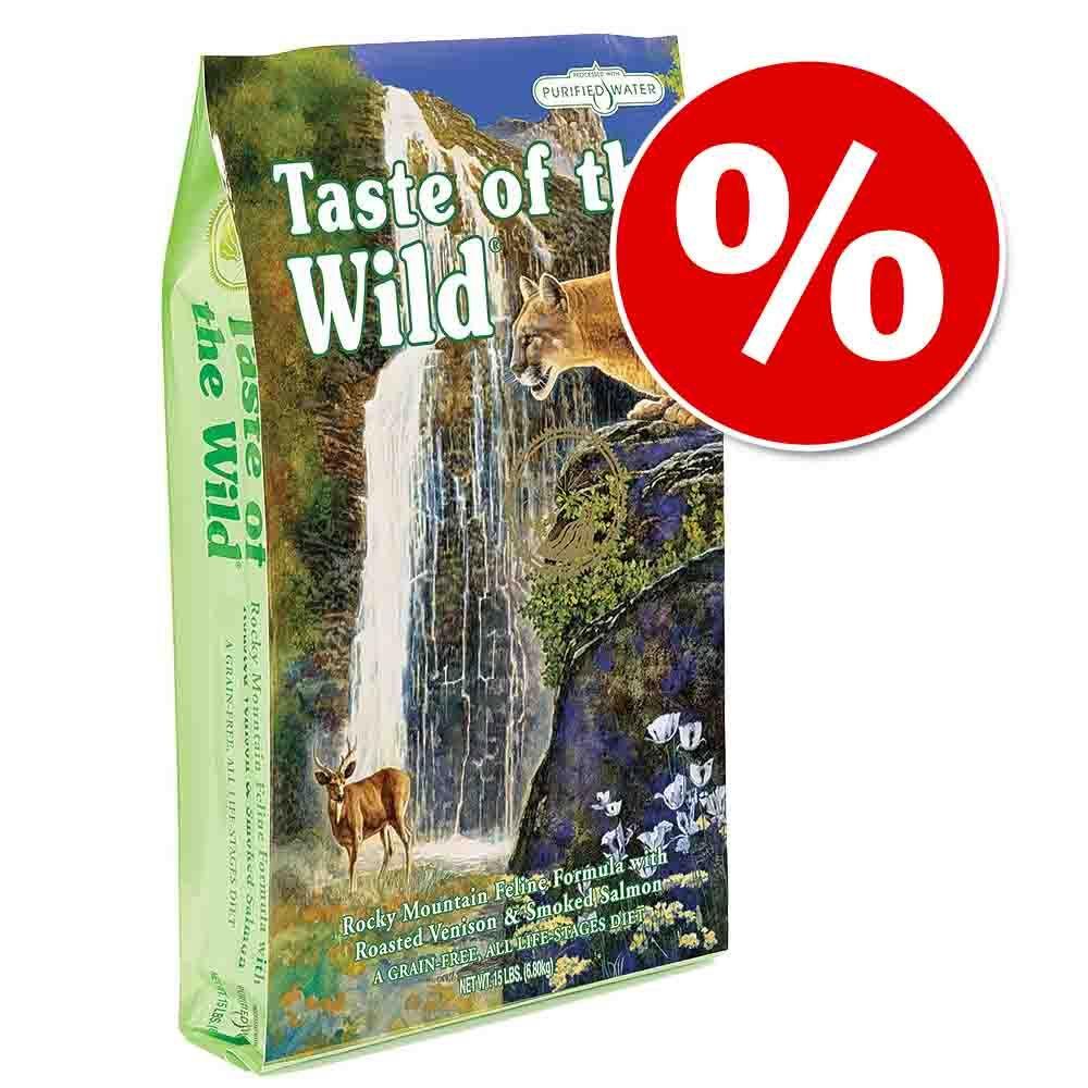 Passa på! 20 kr rabatt på Taste of the Wild kattfoder (7 kg) - Canyon River Feline (7 kg)