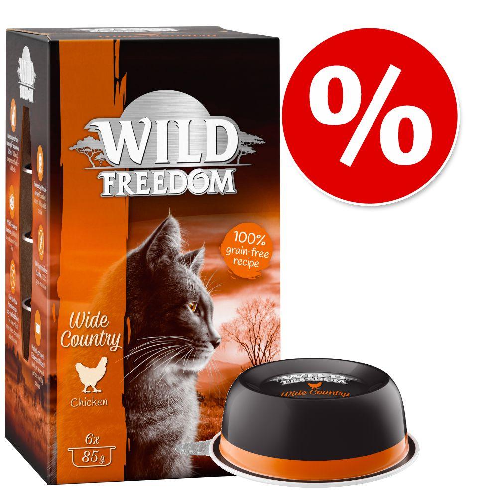 Sparpris! Wild Freedom Adult portionsform 6 x 85 g - Deep Forest - Vilt & kyckling