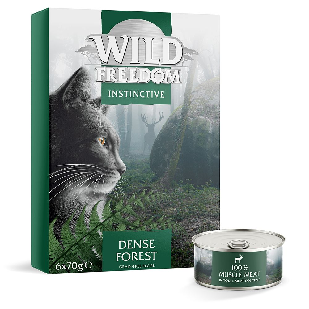 Wild Freedom Instinctive Adult 6 x 70 g - NY: Dense Forest - Deer