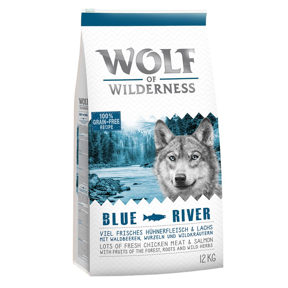 "Wolf of Wilderness Adult ""Blue River"" Salmon 5kg"