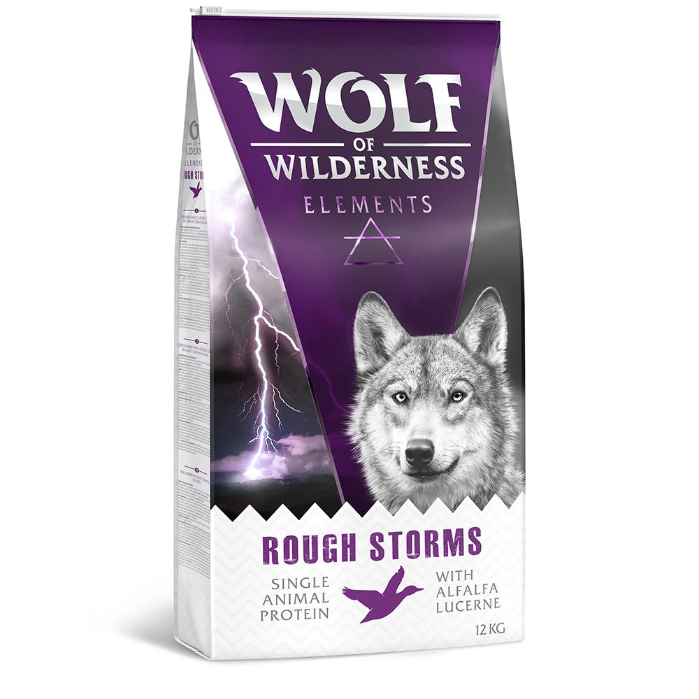 duck Rough Storms Wolf of Wilderness Dry Dog Food