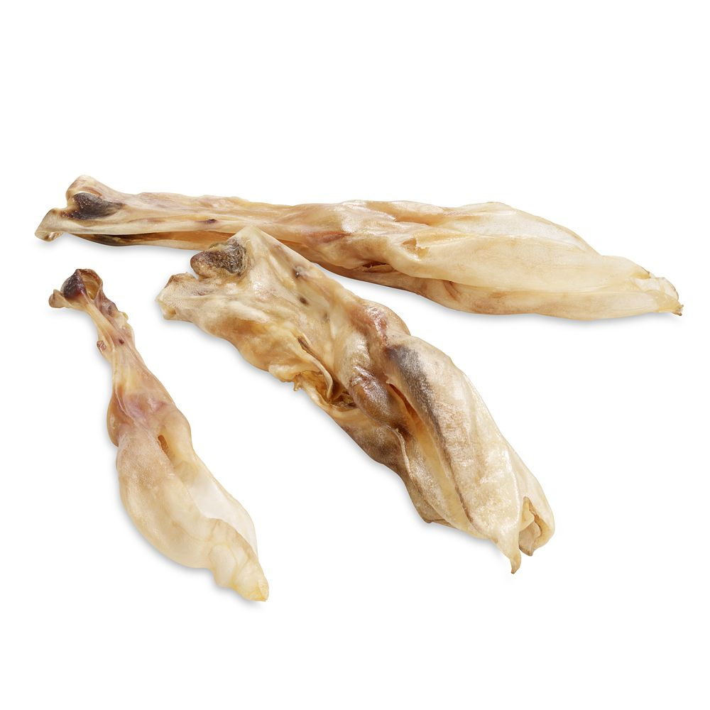 Wolf of Wilderness Dried Rabbit Ears with Fur Dog Snacks