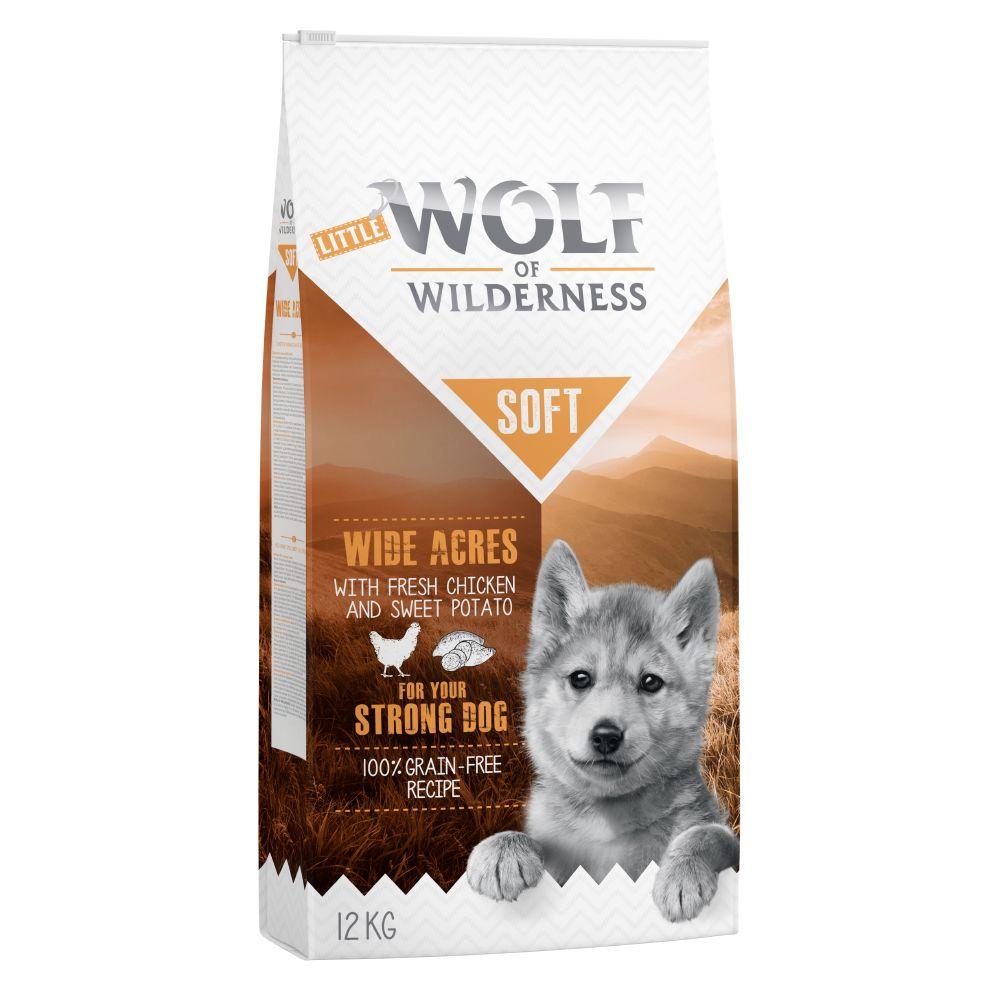5kg Junior Chicken Soft Wolf of Wilderness Wide Acres Dry Dog Food