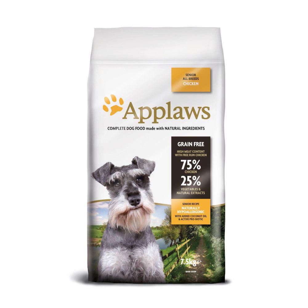 Applaws Senior - Chicken - Economy Pack: 2 x 7.5kg