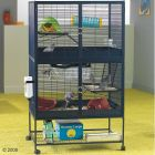 This luxurious cage provides your pet with a perfect home! The cage was designed according to the wishes of owner and pet. Additional levels give a lot of more spa...