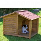 This lovely dog kennel with its cosy porch has extra high stands to protect your dog from rising damp and cold. It also ensures excellent ventilation. The kennel &...