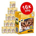 Bozita Chunks in Gravy complete wet cat food is made using premium ingredients such as Swedish beef pork chicken and fish and the juicy chunks contain all the nutr...