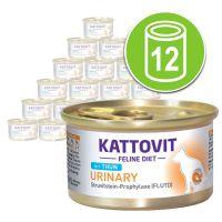 Kattovit Gastro Nat Kattenvoer 12 x 85 g eend