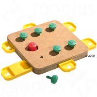 Karlie Doggy Brain Train Cube Dog Toy - 32 x 32 x 5 cm (L x W x H)