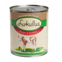 Lukullus menã¹ estivo: delicato cuore di vitello - - 6 x 400 g.