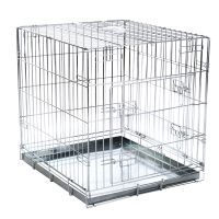 Double Door Transport Cage - Size S: 63 x 55 x 61 cm (L x W x H)