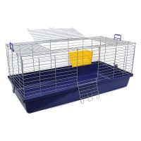 Skyline Maxi XXL Small Pet Cage - Dark Blue: 119 x 59 x 47 cm (L x W x H)