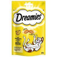 6 x 60g Dreamies Cat Treats + Snacky Mouse Toy Free!* - with Turkey (6 x 60g)