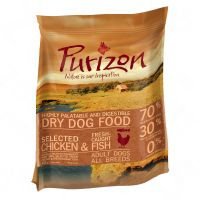 Small Bags Purizon Dry Dog Food - 20% Off!* - Adult Chicken & Fish (400g)