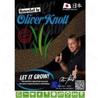 Substrato nature soil nero di oliver knott - - 3 l normale (4-5 mm).