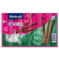 Vitakraft Mini Cat Sticks - 6 x 6g - Salmon & Trout
