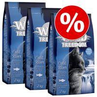 3x2kg Voordeelpakket Wild Hills Eend Wild Freedom Kattenvoer