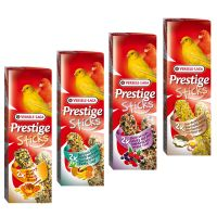 Prestige Sticks for Canaries Mixed Pack - 4 x 2 Sticks (240g)