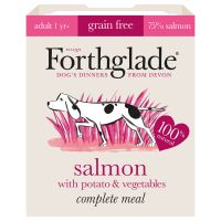 Forthglade Complete Meal Grain-Free Adult Dog - Salmon - Saver Pack: 36 x 395g