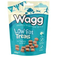 Wagg Low Fat Treats - 125g