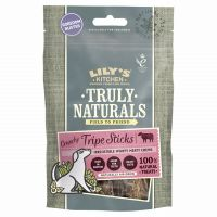 Lilys Kitchen Truly Naturals Crunchy Tripe Sticks Dog Treats - Saver Pack: 3 x 80g