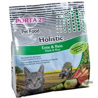 Porta 21 Holistic Cat eend & rijst Kattenvoer Dubbelpak 2 x 10 kg