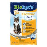 2x10l Dubbelpak: Biokat's Classic 3in1 Kattenbakvulling