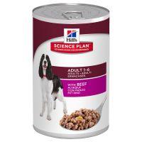 Hills Science Plan Sparpaket 24 x 370 g - Adult Mix: 12 x Rind, 12 x Huhn Preisvergleich