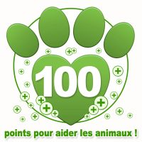 Don de 100 points bonus à une association !