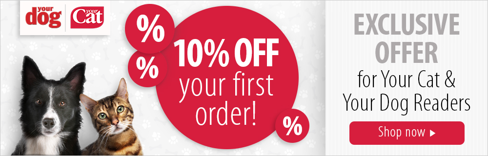Your Cat Your Dog Reader Offer: 10% Off For New Customers