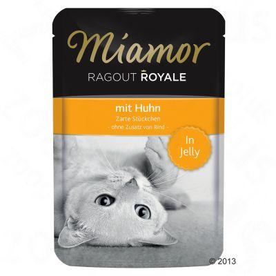 Miamor Ragout Royale i gelé 22 x 100 g – Lax