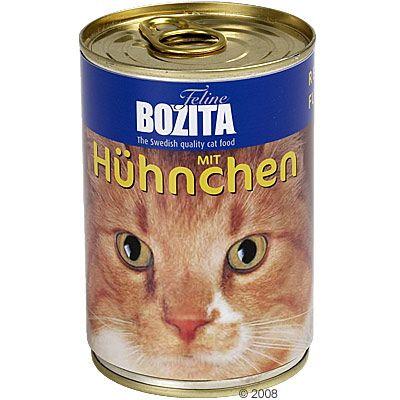Bozita Nat Kattenvoer 6 x 410 g zalm