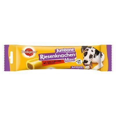 Pedigree Jumbone Maxi snacks para perros grandes - Buey 12 uds. - Pack Ahorro