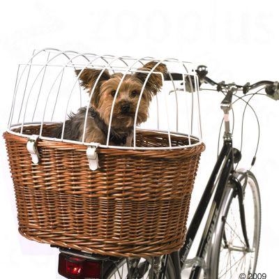 Cykelkorg med skyddsgaller för pakethållare – L 53 x B 35 x H 43 cm
