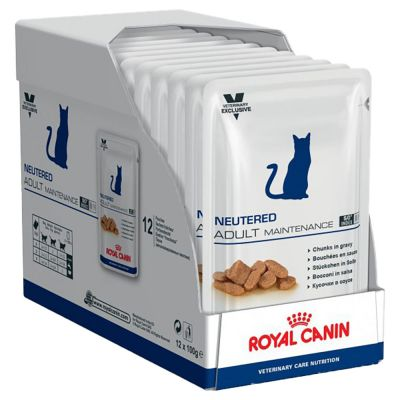 Royal Canin Neutered Adult Maintenance - Vet Care Nutrition - 12 x 100 g
