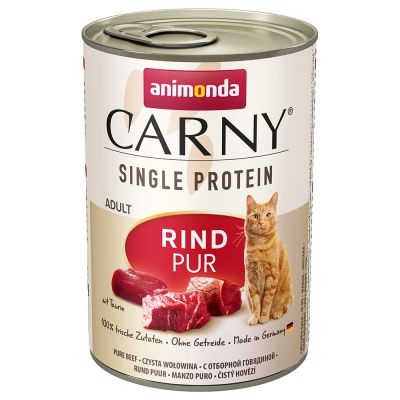 Animonda Carny Single Protein Adult 6 x 400 g - kana (24 x 400 g)